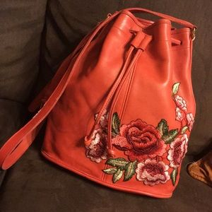 Vintage Coach Bucket Bag Purse