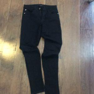 Joe's black skinny jeans