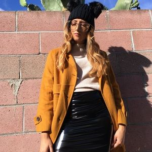 🆕 Mustard yellow Zara coat