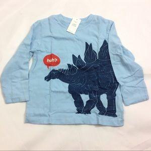 New Baby Gap Dinosaur Tee Stegosaurus Tee Size 2