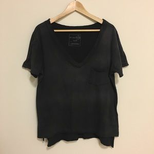 Free People rugged t-shirt. Worn once!