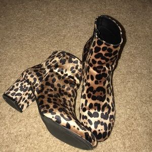 d55c5327477f A New Day Target Shoes | Cute Leopard Booties | Poshmark