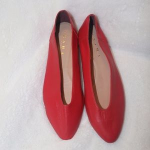 Cute Red Flats