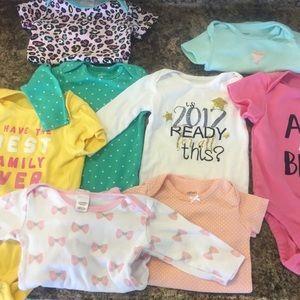 8 one piece baby one piece bodysuits