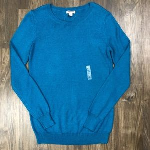 Old Navy blue crew neck sweater