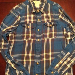 Men's Abercrombie and Fitch Flannel Shirt