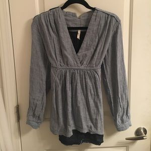 Free People Tunic with Tie-Waist