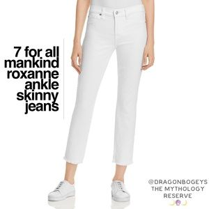 7 For All Mankind Roxanne Ankle Skinny Jeans