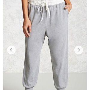 Forever 21 jogger pants
