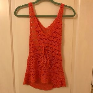 Salmon Bathing Suit Coverup