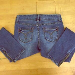 American Rag Cie ankle crop jeans