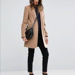 Asos Slim Fit Coat NWT