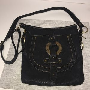 Authentic Valentino crossbody grey black w/ defect