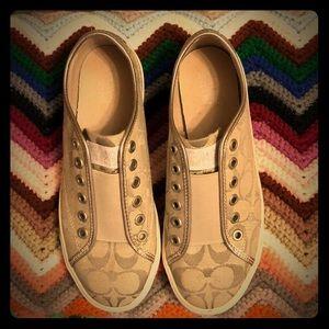 Authentic Coach tennis shoes