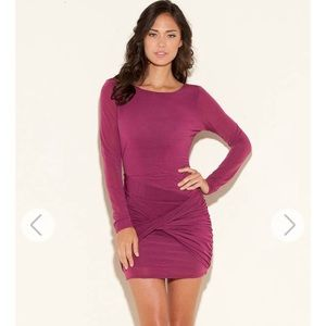 Fitted Long Sleeve Dress by Guess