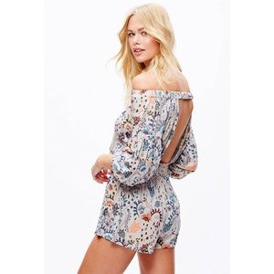 🆕Free People Pretty And Free One Piece Romper M