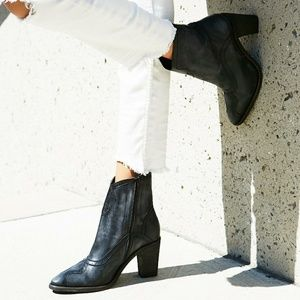NEW Free People Winding Road Ankle Boots