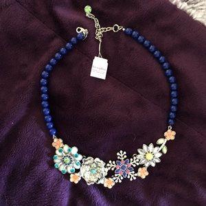 """Full Bloom"" lia sophia necklace, brand new!"
