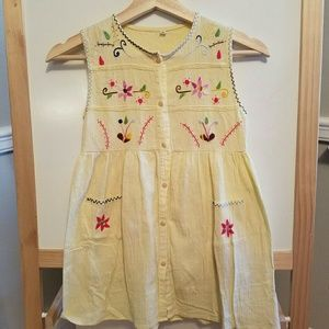 Other - Imported embroidered dress