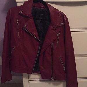 Maroon vest from Forever 21