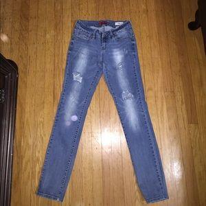 Guess medium rise skinny jeans Sarah fit
