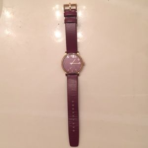 Marc by Marc Jacobs Burgundy watch