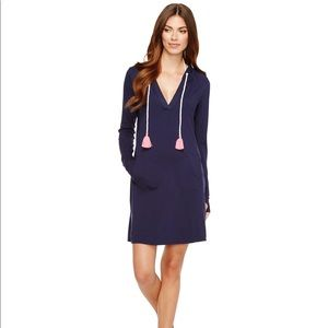 Lilly Pulitzer Rylie True Navy Cover Up NWT