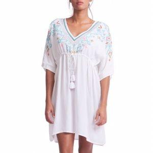 Hipanema X Amenapih White Swim Dress Size TU