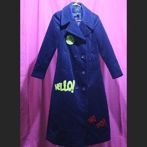 Forever 21 retro trench coat