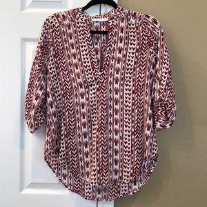 Lush 3-quarter sleeve blouse from Nordstrom.