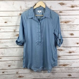 Crown & Ivy Chambray Top