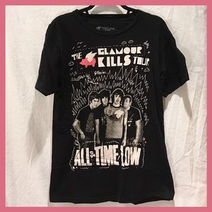 All Time Low Glamour Kills Tour Tee