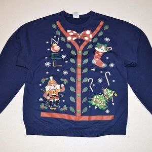 Sweaters - Blue Ugly Christmas Sweater