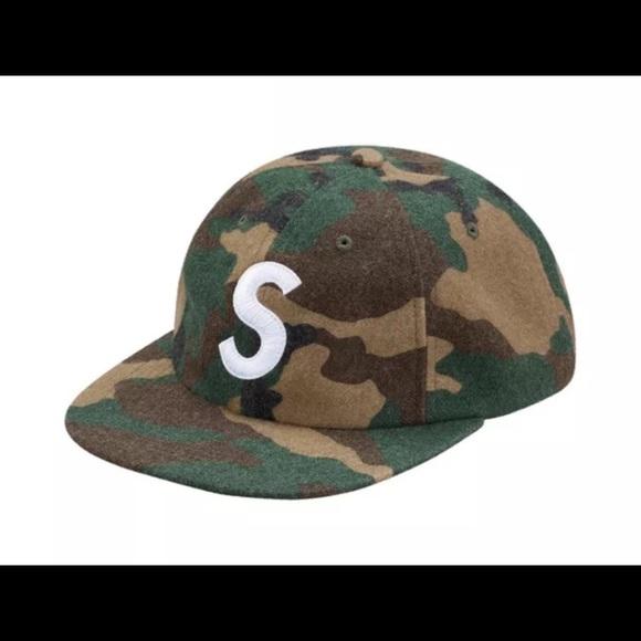 b52758391ca Camo Supreme Wool S Cap