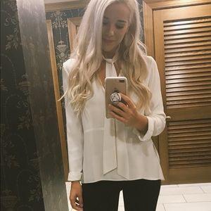 White Zara Top ✨