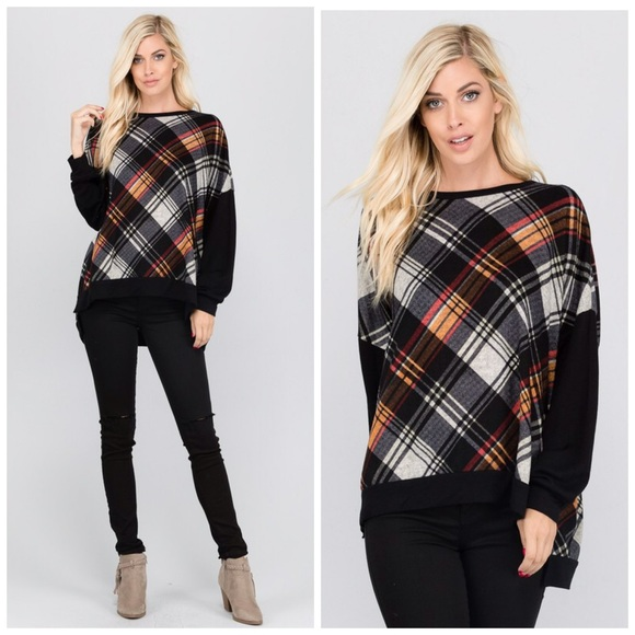 Tops - Last One!! 💕Gorgeous and Soft Tartan Tunic!
