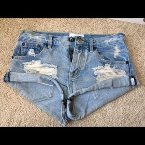 Free people shorts One by One Teaspoon Bandits