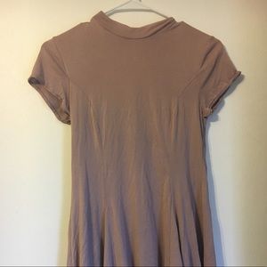 Mauve urban outfitter dress with open back