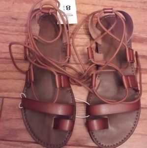 NWT Mossimo gladiator sandals