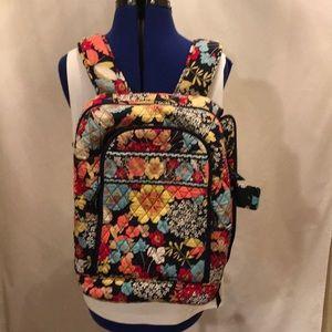 Vera Bradley backpack- EUC