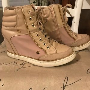 Aldo Kaia Lace up Wedge Sneakers
