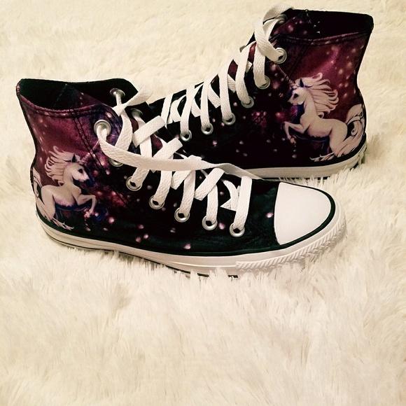 6ad7b9c275a4 ☇Flash Sale Converse Chuck Taylor Unicorn Sneakers