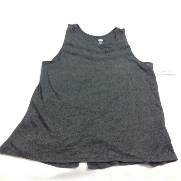 74fe81ef6d5a6 New Old Navy Girls Flare Tank Top Back Slit XXL