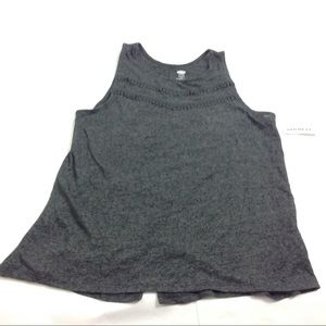 New Old Navy Girls Flare Tank Top Back Slit XXL