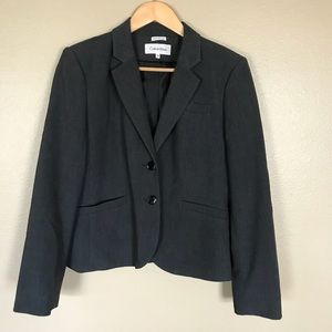 Calvin Klein Grey Dress Jacket