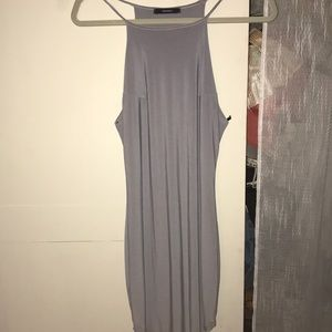 Forever 21 tight grey dress