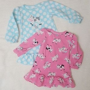 Carter's dress pajamas