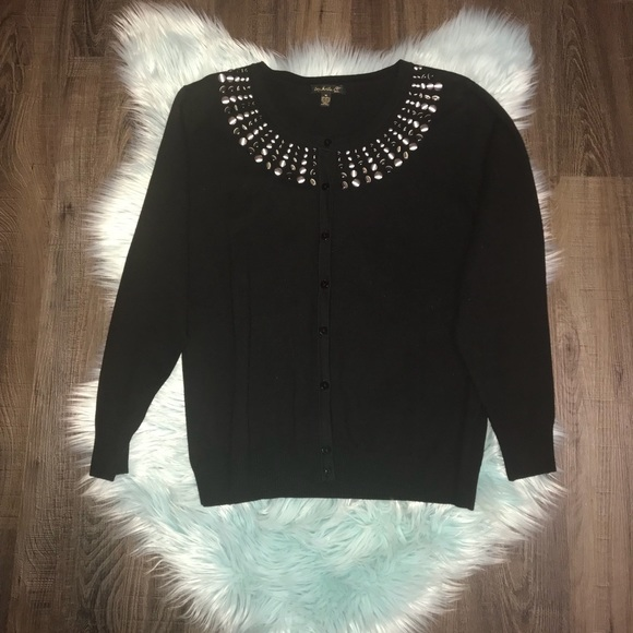 60% off top knits Sweaters - Nice Black Cardigan w/ Gorgeous ...