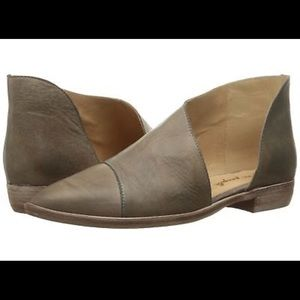 Free People Royale bootie, size 36 grey