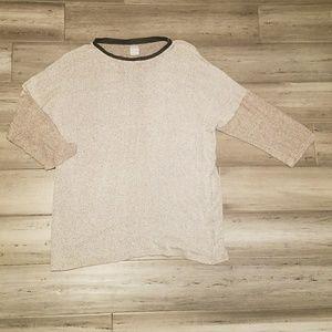 Zara Basics Knit Pullover Sweater Size Medium